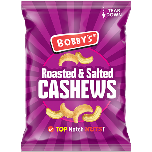 Bobby's Cashew Nuts 60g (UK)
